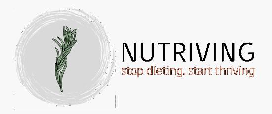New nutriving logo in transparent background