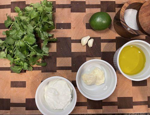 Easy Homemade Cilantro Lime Dressing