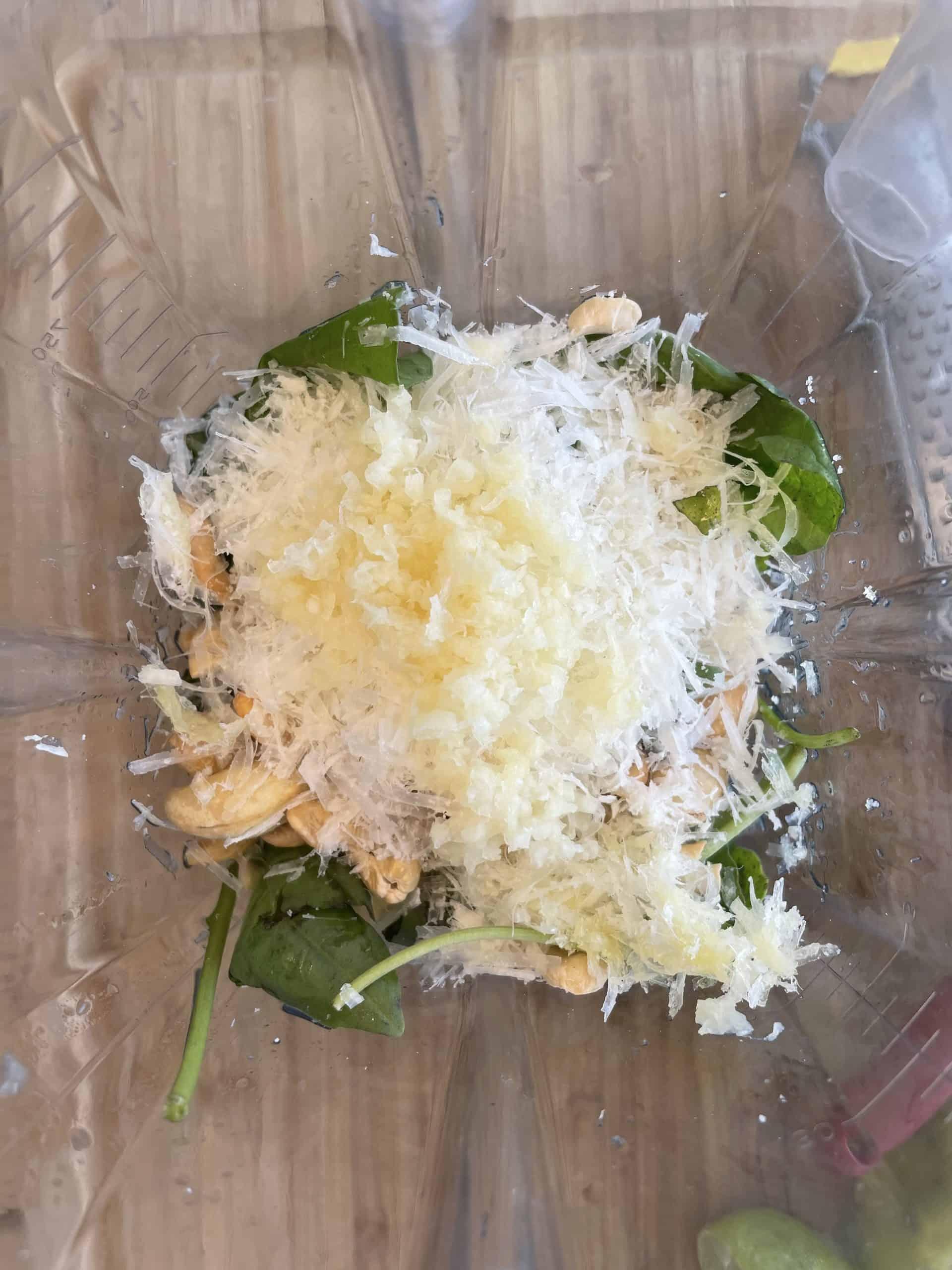 Healthy Pesto Ingredients